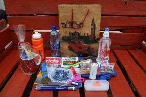 One of the goody bags of a previous Oubos
