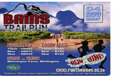 2017 Bains Trail Run in association with Run the Vines