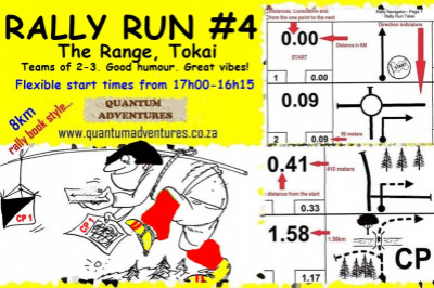 Rally Run #4. The Range, Tokai