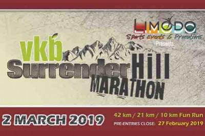 Vkb Surrender Hill Marathon