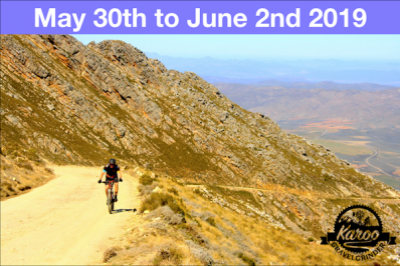 Karoo GravelGrinder 2019 May 30th MOVE 4 to new date