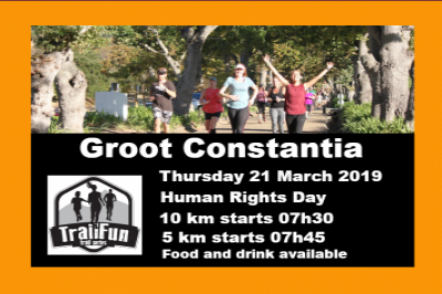 TrailFun Series : Groot Constantia - Human Rights Day