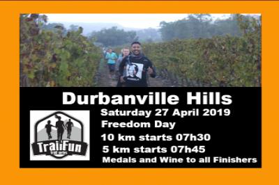 TrailFun Series : Durbanville Hills  - Freedom Day