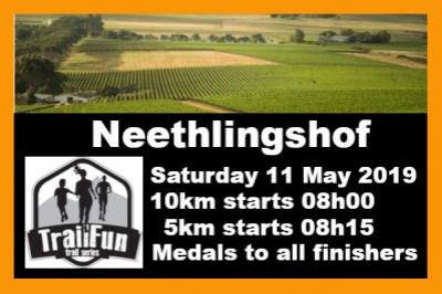TrailFun Series : Neethlingshof Estate - Mother's Day Run