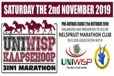 Uniwisp Kaapsehoop 3-in-1 Marathon