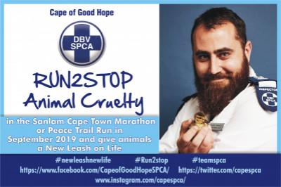 SPCA Sanlam Cape Town Peace Trail Run 2019