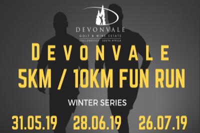 Devonvale 5km/10km Night Run/Walk - May 2019