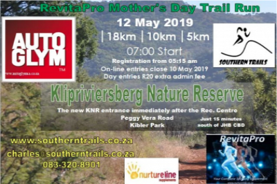 RevitaPro Mother's Day Trail Run