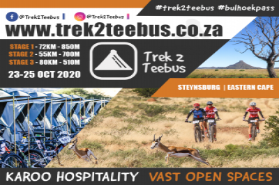 Trek2Teebus 2020 - 3day Karoo MTB Experience - Presented by SEESA