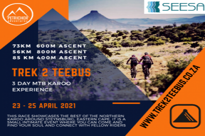 Trek2Teebus 2021 - 3day Karoo MTB Experience - Presented by SEESA