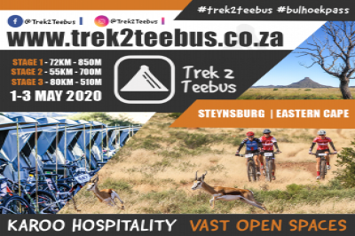 Trek2Teebus 2020 - 3day Karoo MTB Experience - Presented by SEESA