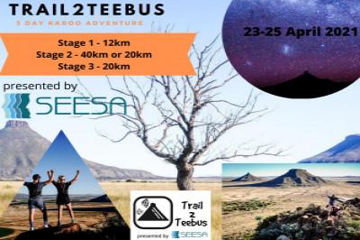 Trail2Teebus 2021 - 3day Karoo Trail Run - Presented by SEESA