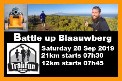 Battle up Blaauwberg Hill