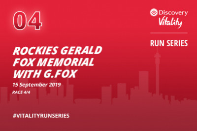 Rockies Gerald Fox Memorial Race with G. Fox and Discovery Vitality