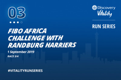 FIBO Africa Challenge with Randburg Harriers and Discovery Vitality