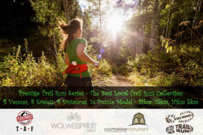 Prestige Trail Run Series 2019 - Enter for event #2 to #5(4x Events)