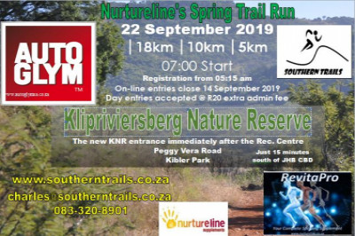 Nurtureline's Spring Trail Run