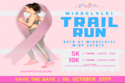Helen Harder Foundation Breast Cancer Trail Run