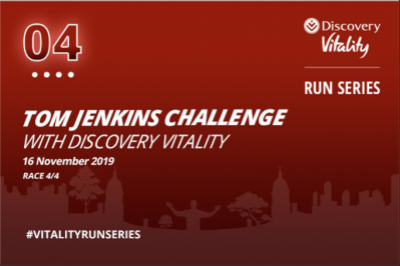 26th Tom Jenkins Run/Walk Challenge with Discovery Vitality