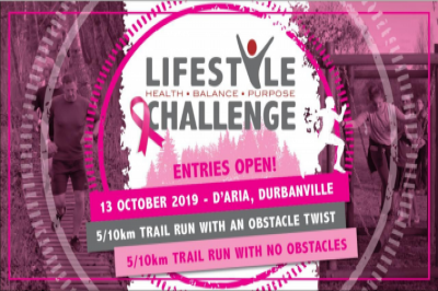 Lifestyle Challenge - 13 October D'Aria