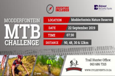 Adventure Included: Modderfontein MTB Challenge