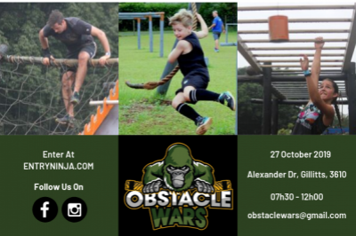 Obstacle Wars Race Series : 27 October 2019