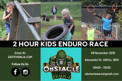 Obstacle Wars - Kids 2Hr Enduro