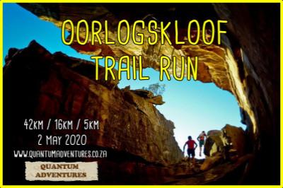 Oorlogskloof Trail run