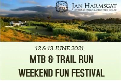 Jan Harmsgat MTB & Trail Run Festival - 2 Day Stage Race