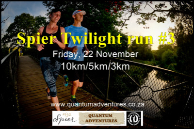 Spier Twilight Run #3 - Presented by LEDLENSER