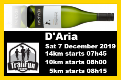 TrailFun Summer Series 1 of 4 : D'Aria Wine Estate