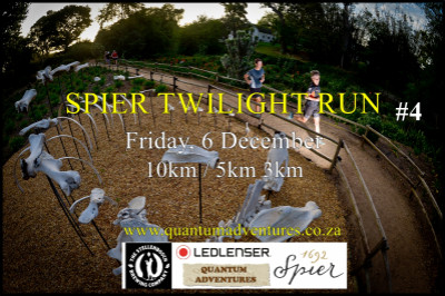 Spier Twilight Run #4. Presented by LEDLENSER.
