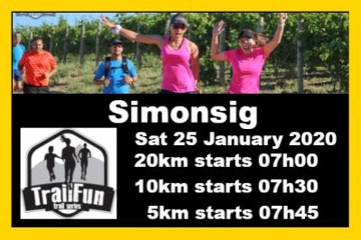 TrailFun Summer Series 2 of 4 : Simonsig Wine Estate