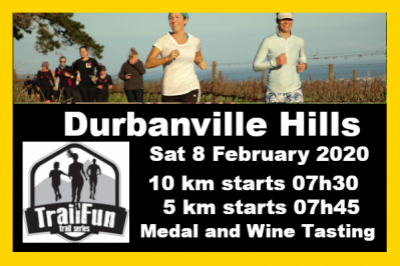 TrailFun Summer Series 3 of 4 : Durbanville Hills