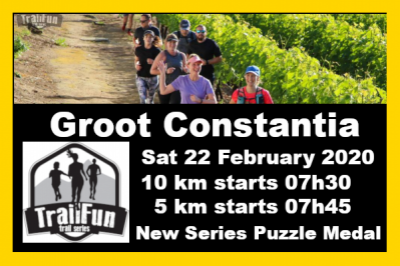 TrailFun Summer Series 4 of 4 : Groot Constantia