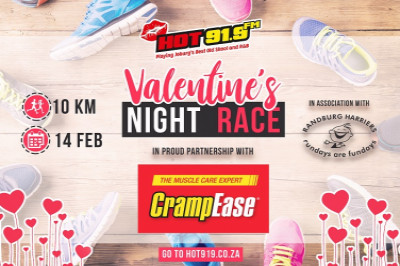 HOT 91.9 Valentine's  Night Race In association with FIBO  10km