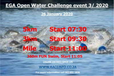 EGA OPEN WATER CHALLENGE 3 (NTS Champs)