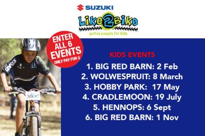 Suzuki Like2Bike Kids Event Series