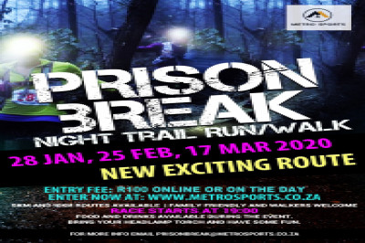 Prison Break Night Run & Walk #3