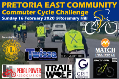Pretoria East commuter cycle challenge