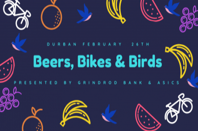 "Grindrod Bank Berg and Bush ""Beers, Bikes and Birds"" DBN"