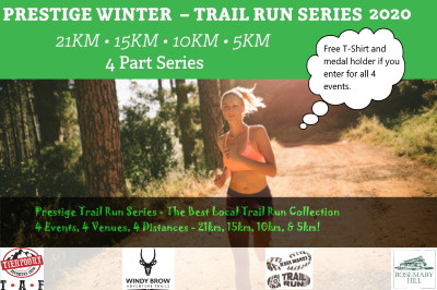 Prestige Trail Run Series 2020 - Enter for remaining 3x events