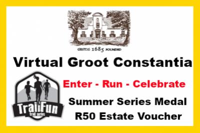 TrailFun Summer Series 4 of 4 : Groot Constantia