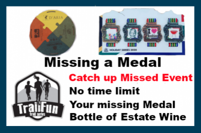 TrailFun : Missing a Medal (Feb entries)