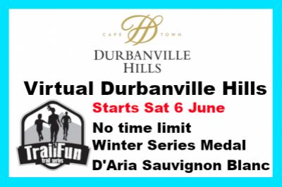TrailFun Winter Series 1 of 4 : Durbanville Hills