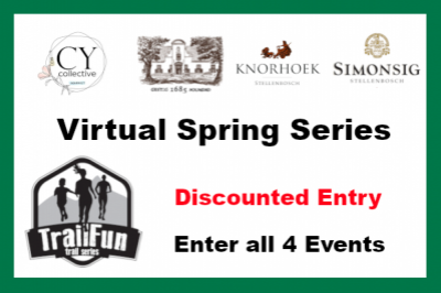 TrailFun Spring Series : All 4 Events with discount (Aug entries)