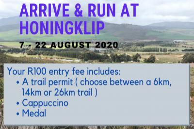 Arrive & Run at Honingklip