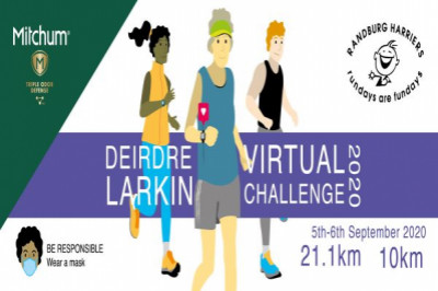 Deirdre Larkin Virtual Challenge with Randburg Harriers