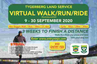 Tygerberg Land Service Virtual Walk/Run/Ride