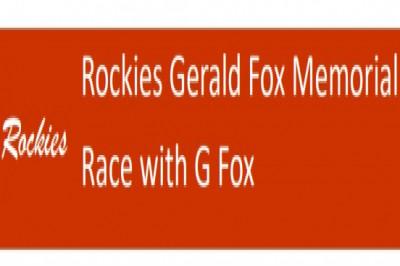 Rockies Gerald Fox Memorial Race with G Fox